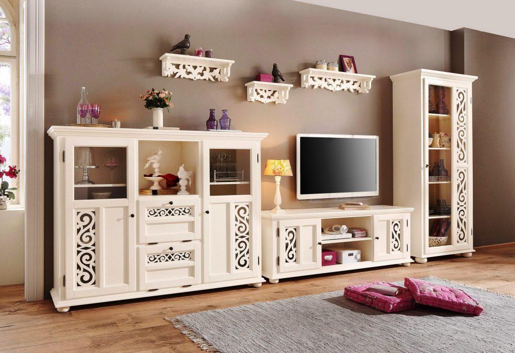 living Arabesk mobila din lemn masiv